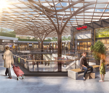 Nieuw project: Blackrock Shopping Centre