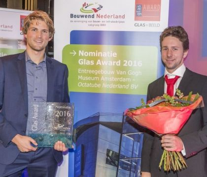 Nominatie Glas Award 2016