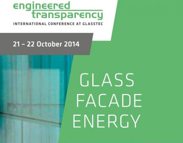 Mick Eekhout lectures at Glasstec