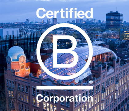 Proud to be a B Corp!™