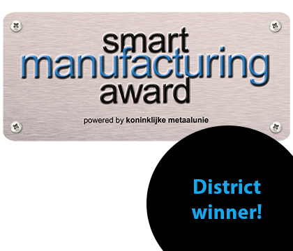 Octatube district winner Metaalunie Smart Manufacturing Award